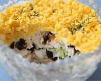 «Собираем» салат