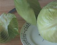 Отделить капустные листья